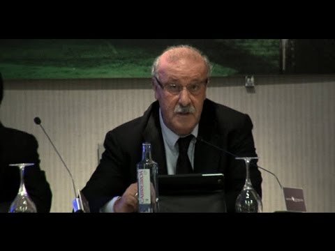 Conferencia Vicente del Bosque