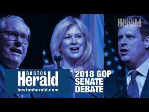 Massachusetts GOP Senatorial candidates debate Trump ties, ICE, Russia