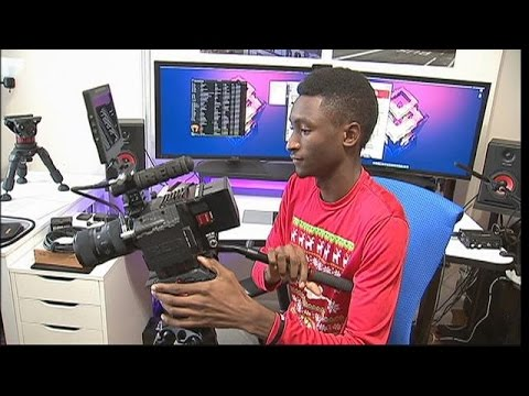 Tech Blogger Marques Brownlee a.k.a. MKBHD