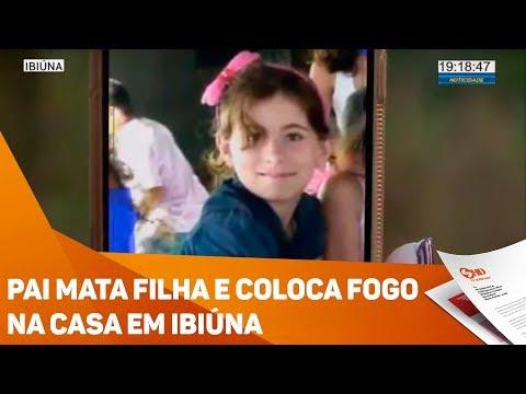 Pai mata filha e coloca fogo na casa em Ibiúna  - TV SOROCABA/SBT