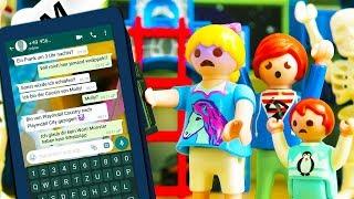 Playmobil Film Deutsch UM 3 UHR NACHTS GRUSELIGE WHATSAPP KRIEGEN! GEIST WARNT KINDER! Familie Vogel