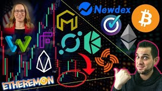 Market Recovery?!? NEWDEX FAKE $EOS HACK ⚠️ CryptoMom Strikes Back! $BTC 300x Cheaper Fees