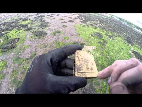 Metal detecting on the west coast of Scotland finding lots of coins & 24k gold pendant