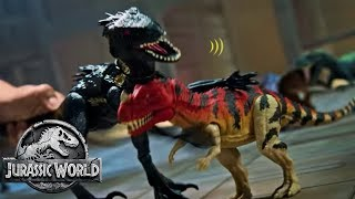 Jurassic World –  Grab 'N Growl™ Indoraptor Official TV Commercial | Mattel Action!