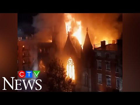 Century-old church destroyed by fire in NYC