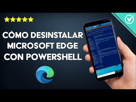 Cómo Desinstalar Microsoft Edge en Windows 10/8/7 con Powershell Fácilmente