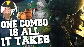 Tobias Fate - ONE GANGPLANK COMBO CHANGES THE GAME! | League of Legends