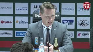 1878 TV | Pressekonferenz 31.03.2019 Augsburg - Düsseldorf 2:1