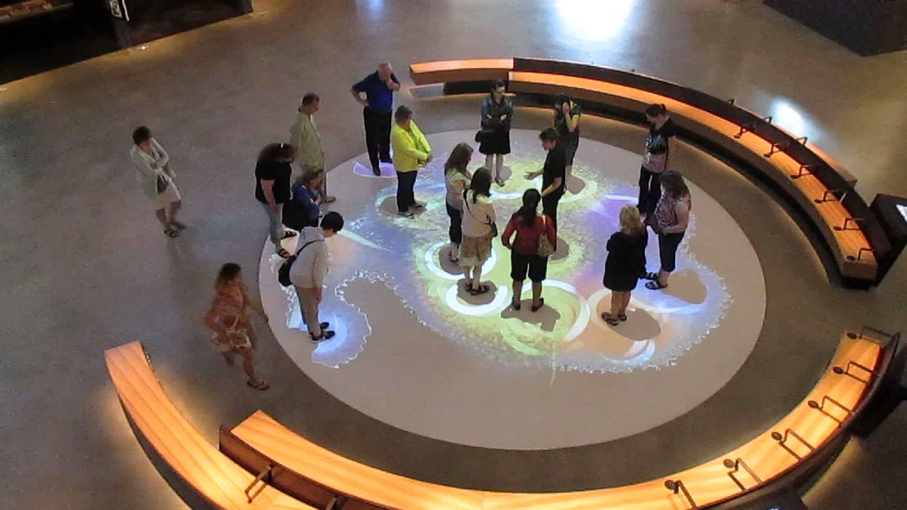 Interactive Floor Canadian Museum Of Human Rights Cmhr