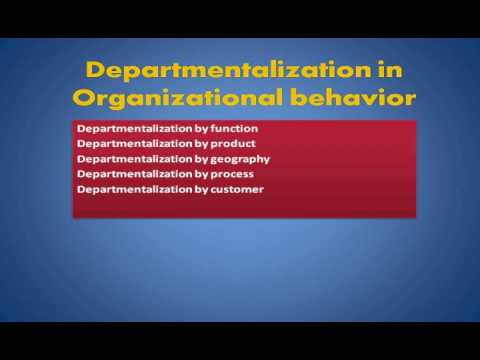 advantages of product departmentalization
