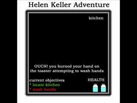 Helen Keller Adventure Game - YouTube