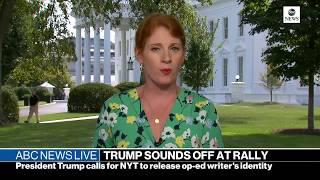 ABC News Live: California wildfires, Kavanaugh confirmation, new book on Trump