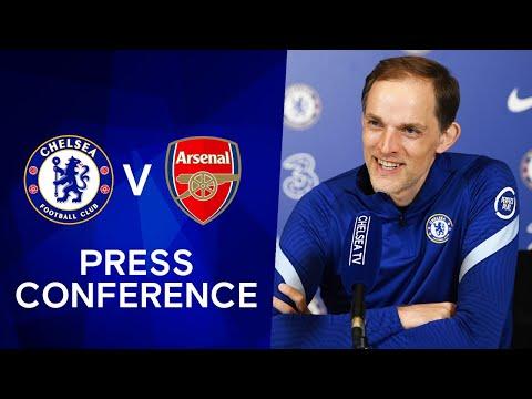 Thomas Tuchel Live Press Conference: Chelsea v Arsenal | Premier League