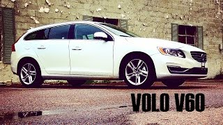 2015 VOLVO V60 Test Drive and Review