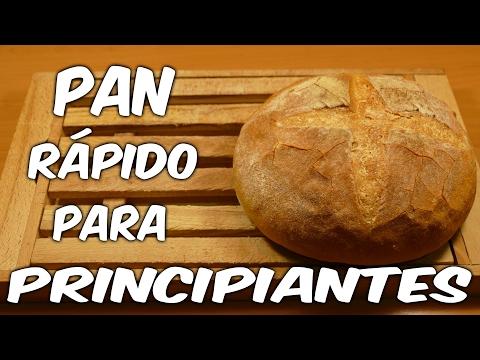 Pan rápido para principiantes (Receta fácil paso a paso)
