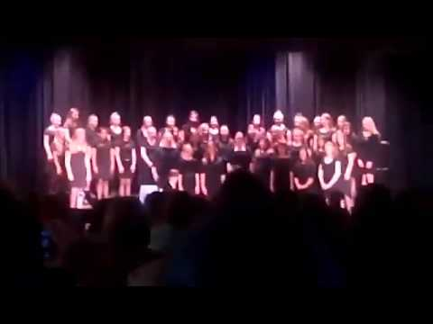 8th grade choir concert at granbury middle school