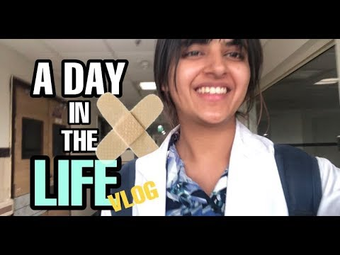 A Day in the Life of A Medical Student in India | Vlog #1 Final Year
