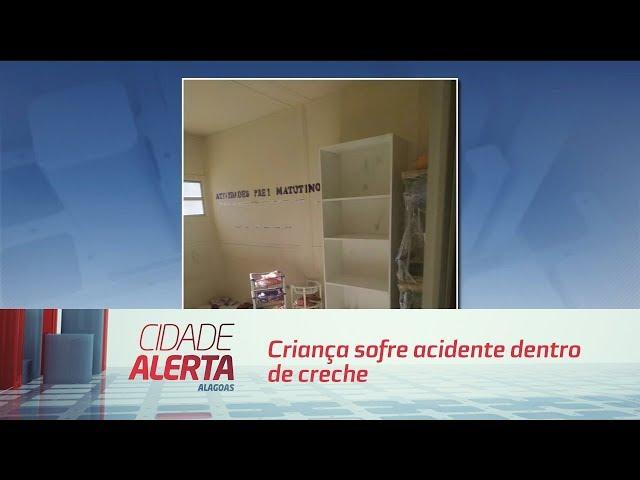 Criança sofre acidente dentro de creche pertencente ao município de Marechal