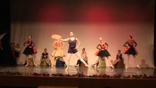 Ballet studio Grande. Fairy Doll. Spanish Dance. Rehearsal