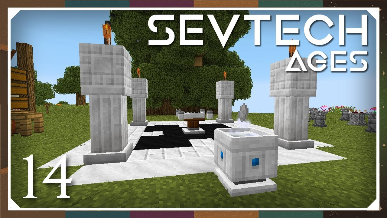 Sevtech: Ages | Starlight Crafting Altar & Lightwell! | E14 (SevTech Ages  Modpack)