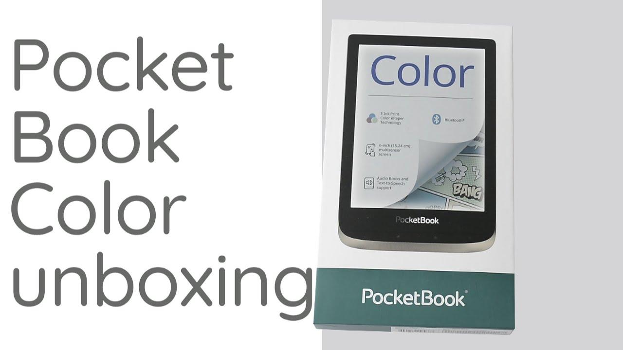 Czytnik pełen kolorów, czyli unboxing Pocketbooka Color