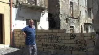 SICILIA TV (Favara) Cedimenti edificio quartiere di Via San Calogero a Favara