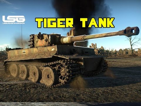 Tiger H1 Tank Cat & Mouse Realistic Battle - War Thunder