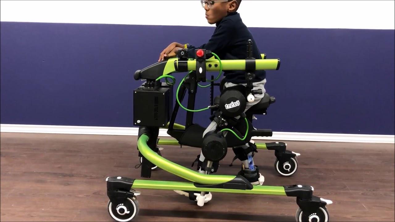 Trexo Plus Robotic Gait Rehab Platform