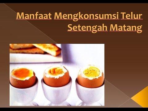 Apakah telur setengah matang aman untuk dikonsumsi?