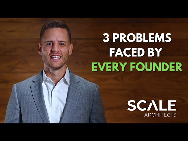 The three problems faced by every successful founder