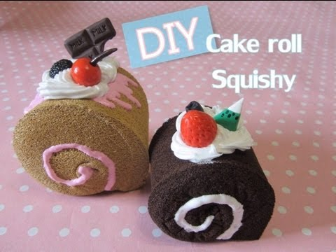 How To Make A Cake Roll Squishy