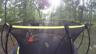 Bailey and Jack Payne skybound trampoline session