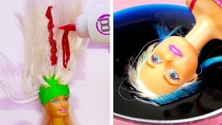 25 CRAZY HACKS FOR YOUR BARBIE thumbnail