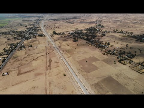 Drone footage shows railway line from Ethiopian capital to Djibouti