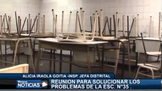 La escuela Nº 35 del barrio Santa Rosa con graves problemas edilicios - Alicia Iraolagoitia 2