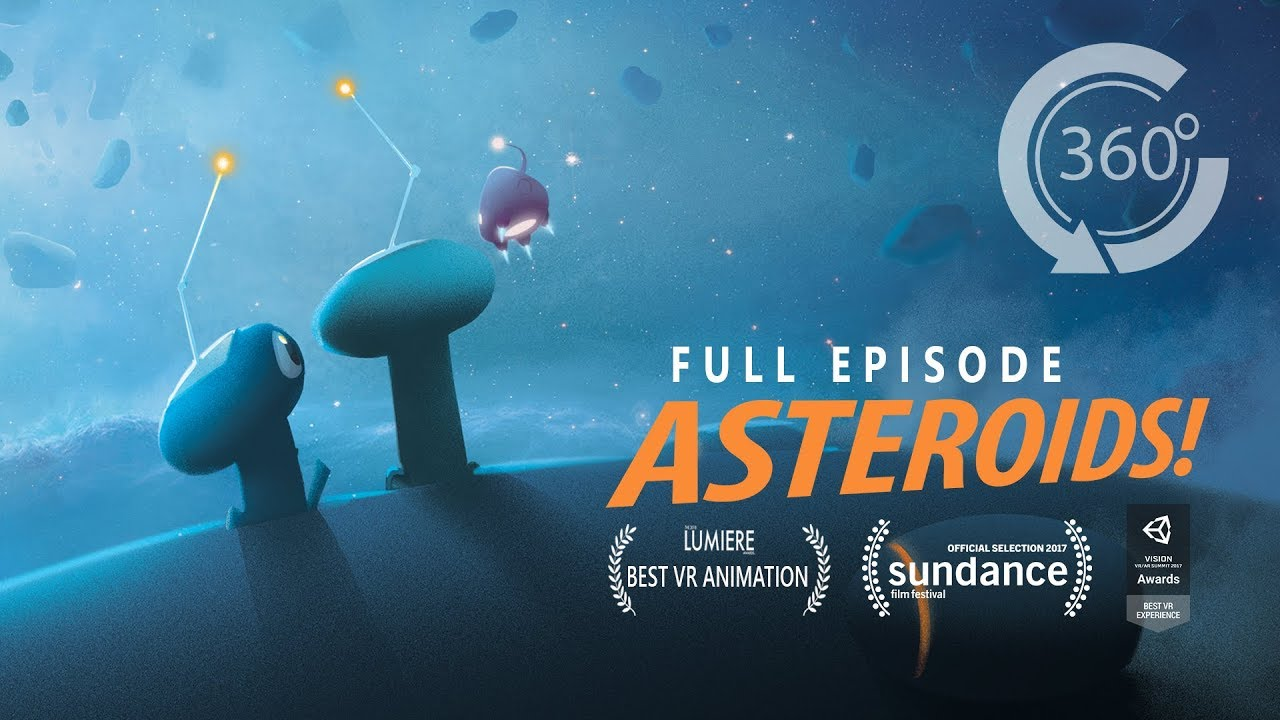 ASTEROIDS! | Animated 360 Movie [HD] | Elizabeth Banks, Ingrid Nilsen