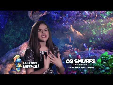 Maisa fala sobre a experiência de dublar Smurfs no cinema