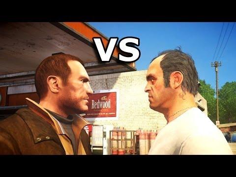 Grand Theft Auto IV - Trevor meets Niko Bellic part 2
