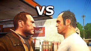 Grand Theft Auto IV - Trevor meets Niko Bellic part 2
