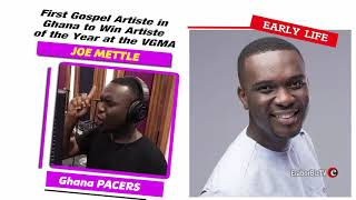 First Gospel Artiste in Ghana to Win Artiste of the Year at the VGMA