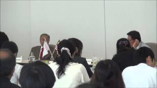 8月4日(火)マレーシア元首相マハティール・ビン・モハマド閣下と学生の対話集会~対話②~
