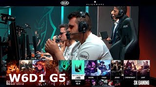 G2 Esports vs SK Gaming   Week 6 Day 1 S10 LEC Spring 2020   G2 vs SK W6D1