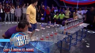 Don't Blow The Joker | Minute To Win It - Last Tandem Standing