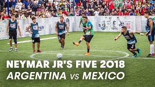 Neymar Jr's Five 2018 Men's Final Match: Argentina vs Mexico | Five-A-Side Football Tournament