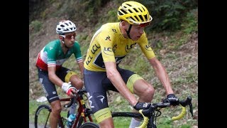 Tour De France Stage 13 Aru Still In Yellow & Chris Froome Looking Fresh