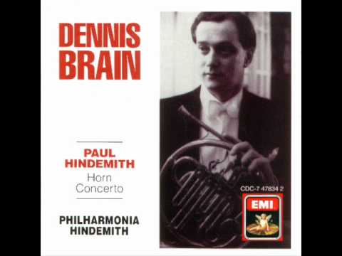 Paul Hindemith-Horn Concerto (Complete)