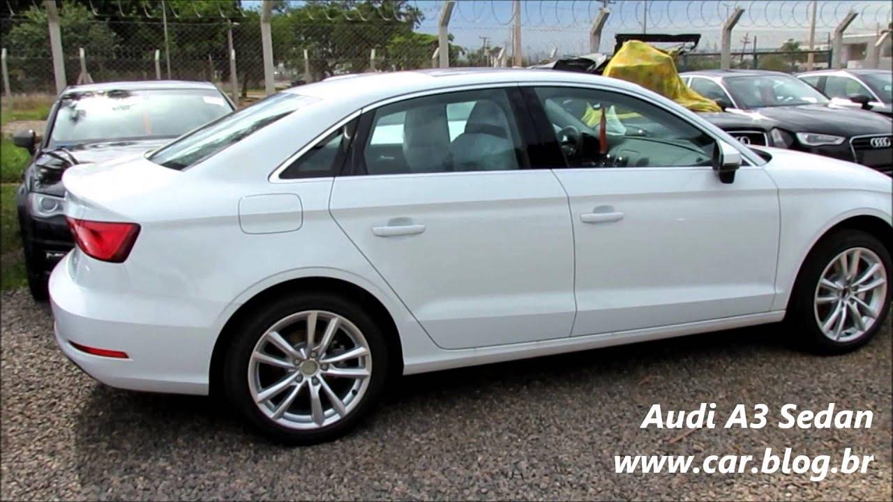 audi a3 sedan - cores - www.car.blog.br - youtube