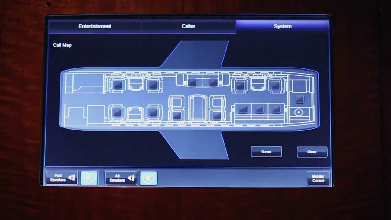 Rockwell Collins Venue Cabin Management System Overview