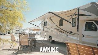 Apollo RV USA Demo Video - Winnebago: Awning