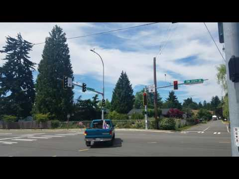 "5-Section Flashing Yellow Arrow (""Yield to Pedestrians"") -- Federal Way, WA"